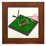 Rose Colored Glasses on the G Framed Tile