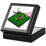 Rose Colored Glasses on the G Keepsake Box