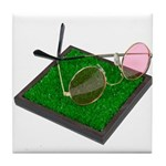 Rose Colored Glasses on the G Tile Coaster