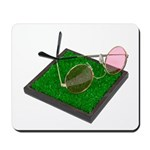 Rose Colored Glasses on the G Mousepad