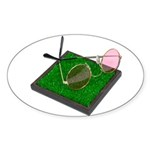 Rose Colored Glasses on the G Sticker (Oval 50 pk)