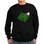 Rose Colored Glasses on the G Sweatshirt (dark)