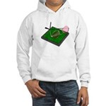 Rose Colored Glasses on the G Hooded Sweatshirt