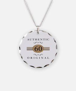 Authentic 60th Birthday Necklace