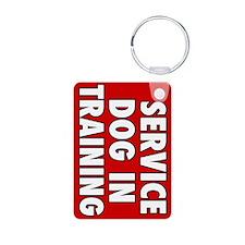 Service Dog in Training Keychains