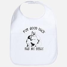 rub the buddha belly Bib