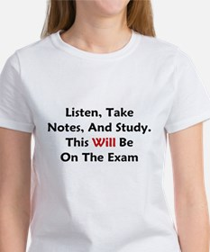 This Will Be On The Exam Tee