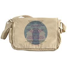 Wolf Wisdom Messenger Bag