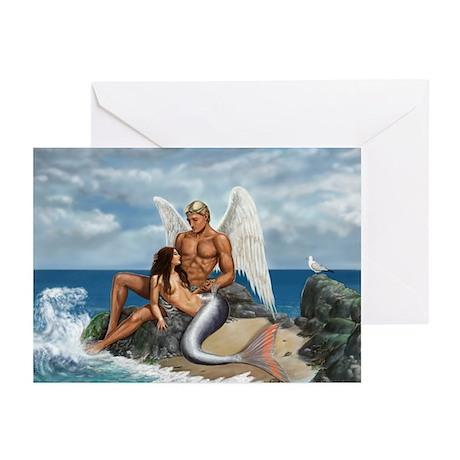 A brid may love a fish Greeting Cards (Pk of 10)