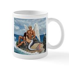 A brid may love a fish Mug