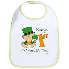 Baby's First St Patricks Day Bib