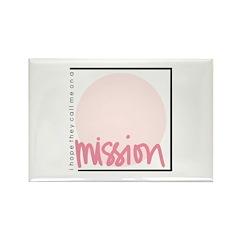 Mission - Girl Rectangle Magnet (10 pack)