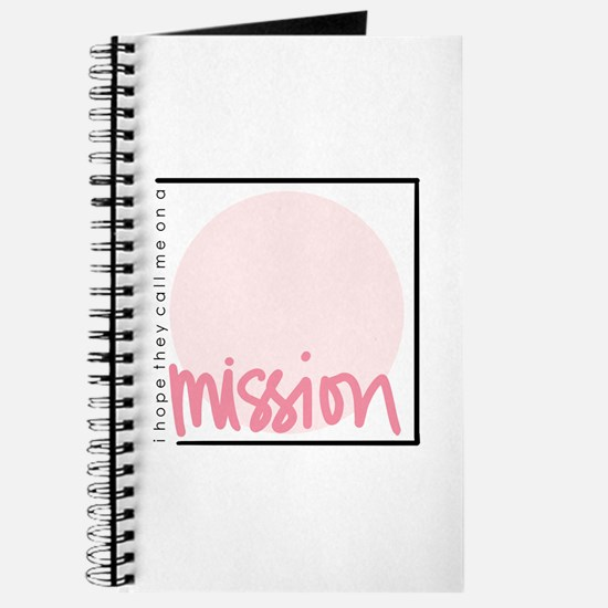 Mission - Girl Journal