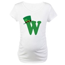 St. Patrick's Day Letter W Shirt