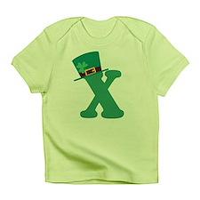 St. Patrick's Day Letter X Infant T-Shirt