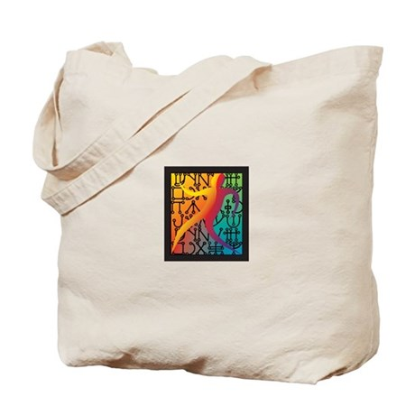 Tiferet Man Logo Tote Bag