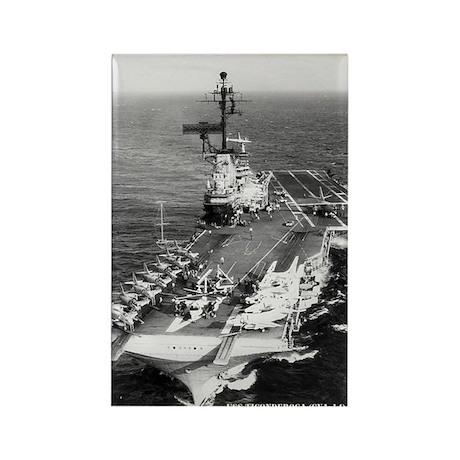 USS TICONDEROGA Rectangle Magnet