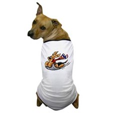 Airedale Terrier Sledding Dog T-Shirt