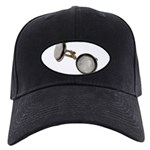 Set of Cuff Links Black Cap