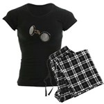 Set of Cuff Links Women's Dark Pajamas