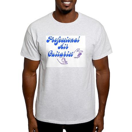 AIR GUITARIST Ash Grey T-Shirt