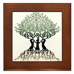 Tree of Life Framed Tile