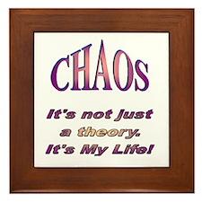 Chaos Framed Tile