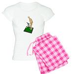 Using Hoe on Grass Women's Light Pajamas