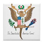 National Ferret Tile Coaster