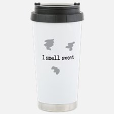 I Smell Sweat © Stainless Steel Travel Mug
