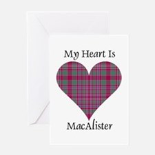 Heart - MacAlister Greeting Card