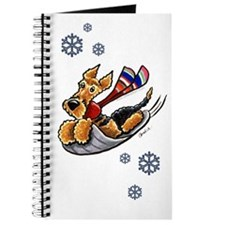 Airedale Terrier Sledding Journal
