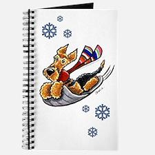 Airedale Terrier Sledding Journal