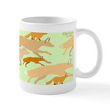 """Running Foxes"" Mug"