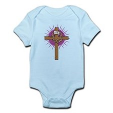 Unique Jesus risen Infant Bodysuit