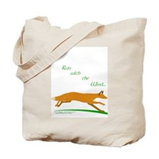 """Run with the Wind"" Tote Bag"