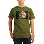 Stan Getz Playing Organic Men's T-Shirt (dark)