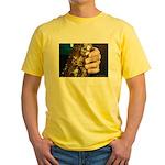Stan Getz Playing Yellow T-Shirt