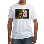 Stan Getz Playing Fitted T-Shirt