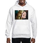 Stan Getz Playing Hooded Sweatshirt