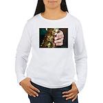 Stan Getz Playing Women's Long Sleeve T-Shirt
