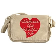 Valentine Day Birthday Girl Messenger Bag