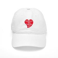 Valentine Day Birthday Girl Baseball Cap