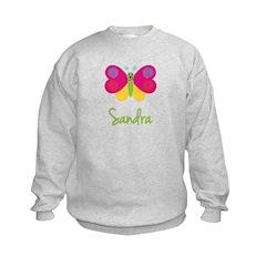 Sandra The Butterfly Sweatshirt