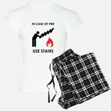 In Case of Fire Use Stairs Pajamas