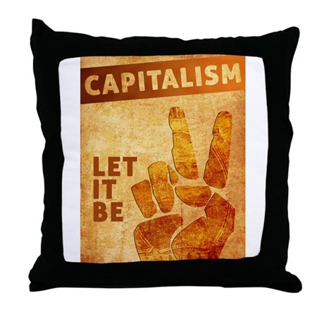 Let It Be Throw Pillow