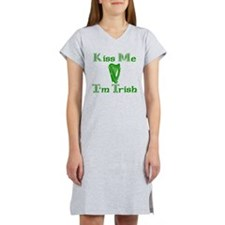 Kiss Me I'm Trish Women's Nightshirt