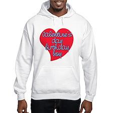 Valentine Day Birthday Boy Hoodie