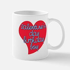 Valentine Day Birthday Boy Mug