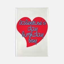 Valentine Day Birthday Boy Rectangle Magnet
